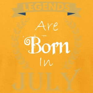 Legend Are Born In July - Men's T-Shirt by American Apparel