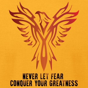 Conquer Your Greatness - Men's T-Shirt by American Apparel