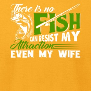 There is no fishing can resist my attraction - Men's T-Shirt by American Apparel