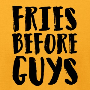 Fries before guys Artboard 1 - Men's T-Shirt by American Apparel