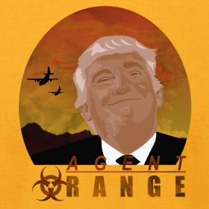 trump agent orange - Men's T-Shirt by American Apparel