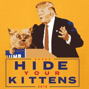 Trump Kitten - Men's T-Shirt by American Apparel