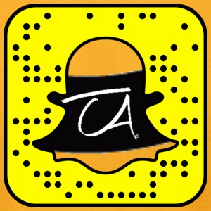 snapcode - Men's T-Shirt by American Apparel