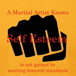 A Martial Artist Knows #1 - Fist - Men's T-Shirt by American Apparel