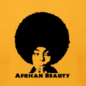 African Beauty - Men's T-Shirt by American Apparel