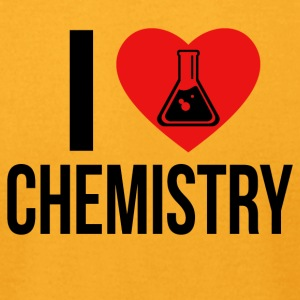 I LOVE CHEMISTRY - Men's T-Shirt by American Apparel