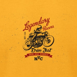 Legendry Racers - Men's T-Shirt by American Apparel