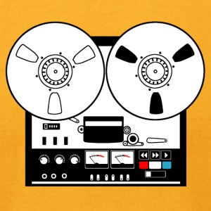 Reel to reel recorder - Men's T-Shirt by American Apparel
