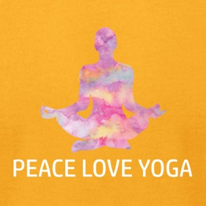 Cool Yoga Designs - Men's T-Shirt by American Apparel