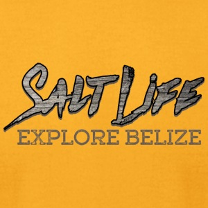 Salt Life In Belize - Men's T-Shirt by American Apparel