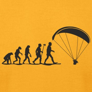 evolution paragliding - Men's T-Shirt by American Apparel
