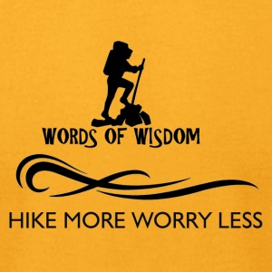 Hike More Worry Less - Men's T-Shirt by American Apparel