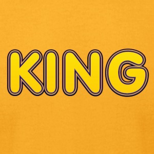 King yellow - Men's T-Shirt by American Apparel