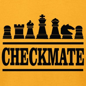 checkmate - Men's T-Shirt by American Apparel
