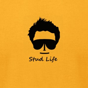 stud life - Men's T-Shirt by American Apparel