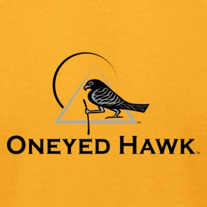Oneyed Hawk Logo Guide 03 - Men's T-Shirt by American Apparel