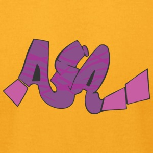 aia_graffiti - Men's T-Shirt by American Apparel