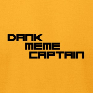 Dank Meme Captain - Men's T-Shirt by American Apparel