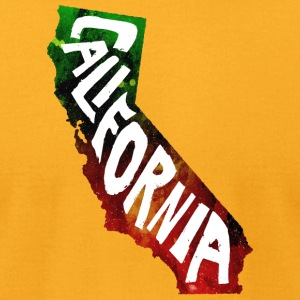 It's California Dude! - Men's T-Shirt by American Apparel