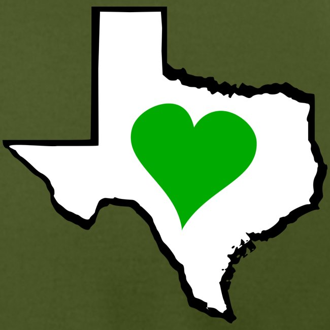 Texas Green Heart