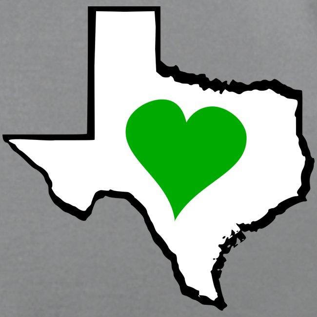 Texas Green Heart