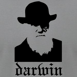 Darwin Logo - Men's T-Shirt by American Apparel