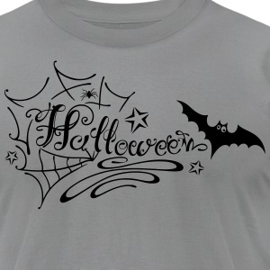 Halloween Lettering - Men's T-Shirt by American Apparel
