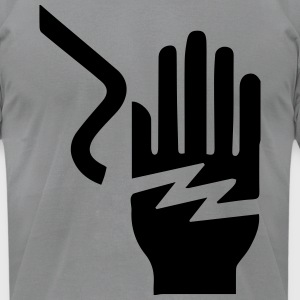 Electrical Hazard - Men's T-Shirt by American Apparel