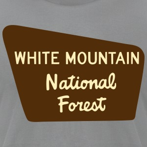 White Mtns - Men's T-Shirt by American Apparel