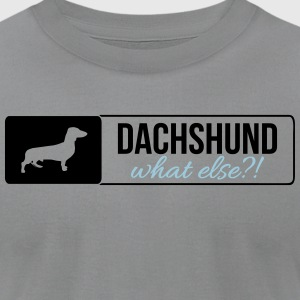 Dachshund what else - Men's T-Shirt by American Apparel