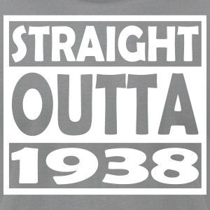 79th Birthday T Shirt Straight Outta 1938 - Men's T-Shirt by American Apparel