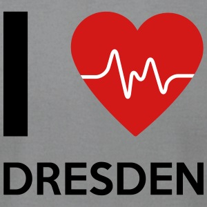 I Love Dresden - Men's T-Shirt by American Apparel