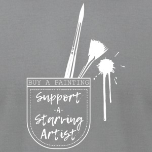 Support a Starving Artist - Men's T-Shirt by American Apparel
