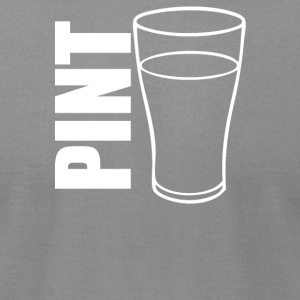 Pint Glass Illustration - Men's T-Shirt by American Apparel