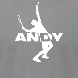 Andy Tennis - Men's T-Shirt by American Apparel