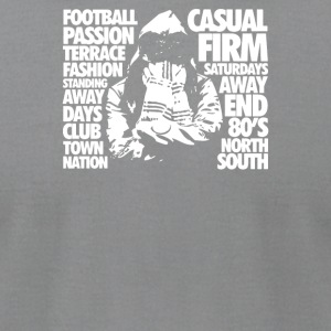 Casual Culture Football Terrace - Men's T-Shirt by American Apparel