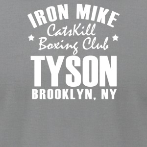 Iron Mike Tyson Catskill Boxing Club - Men's T-Shirt by American Apparel