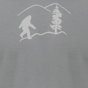 Oregon Bigfoot - Men's T-Shirt by American Apparel