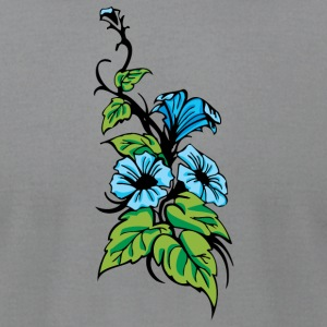 flowers_bush - Men's T-Shirt by American Apparel
