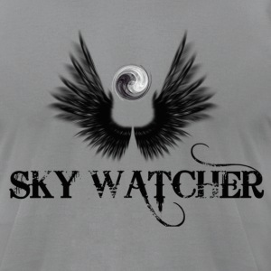 sky watcher - Men's T-Shirt by American Apparel