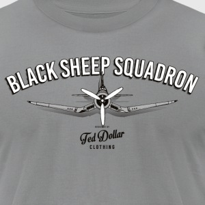 Black Sheep Squadron - Men's T-Shirt by American Apparel