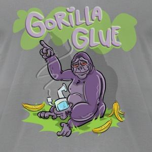 gorilla glue - Men's T-Shirt by American Apparel