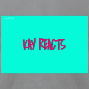 KAY REACTS - Men's T-Shirt by American Apparel