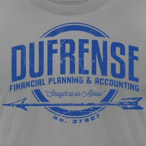 Dufrense Financial Planning and Accounting - Men's T-Shirt by American Apparel