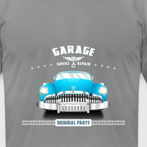 Car_Toon T-shirt - Men's T-Shirt by American Apparel