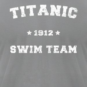 Titanic Swim Team - Men's T-Shirt by American Apparel