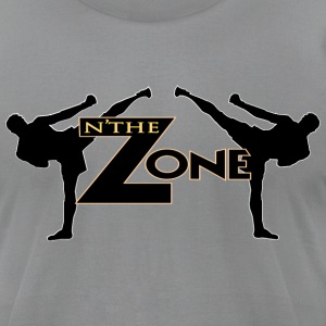 Zone MMA - Men's T-Shirt by American Apparel