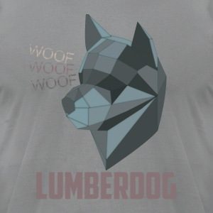 LumberDog - Men's T-Shirt by American Apparel