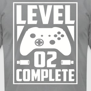 Level 02 Complete - Men's T-Shirt by American Apparel