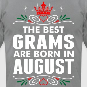 The Best Grams Are Born In August - Men's T-Shirt by American Apparel